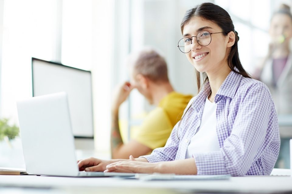 programming woman