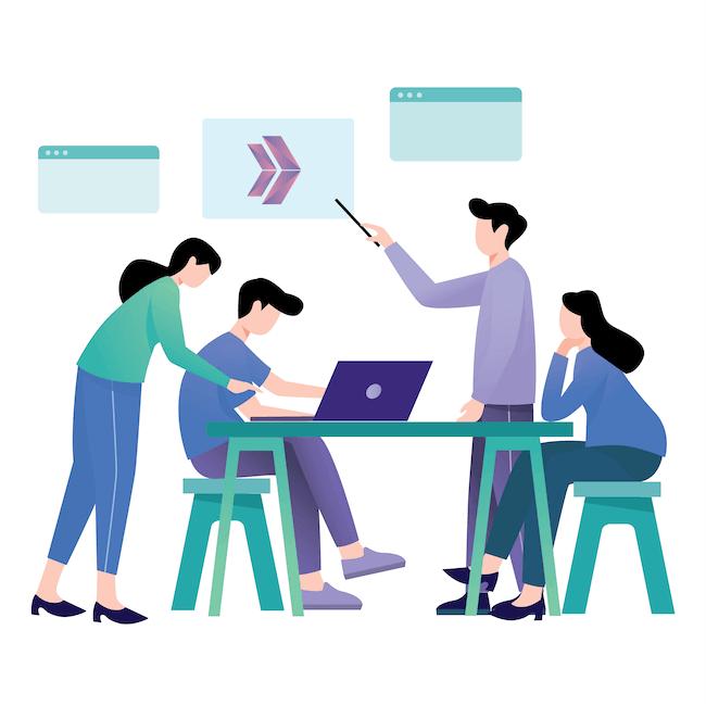collaboration and teamworkd